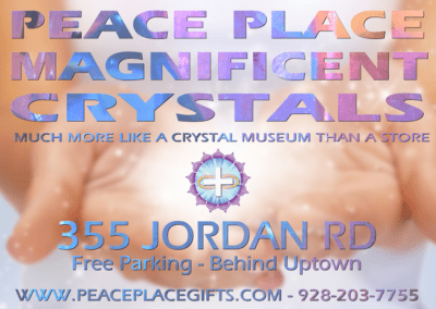 Peace Place Gifts Map Sedona Ad Design