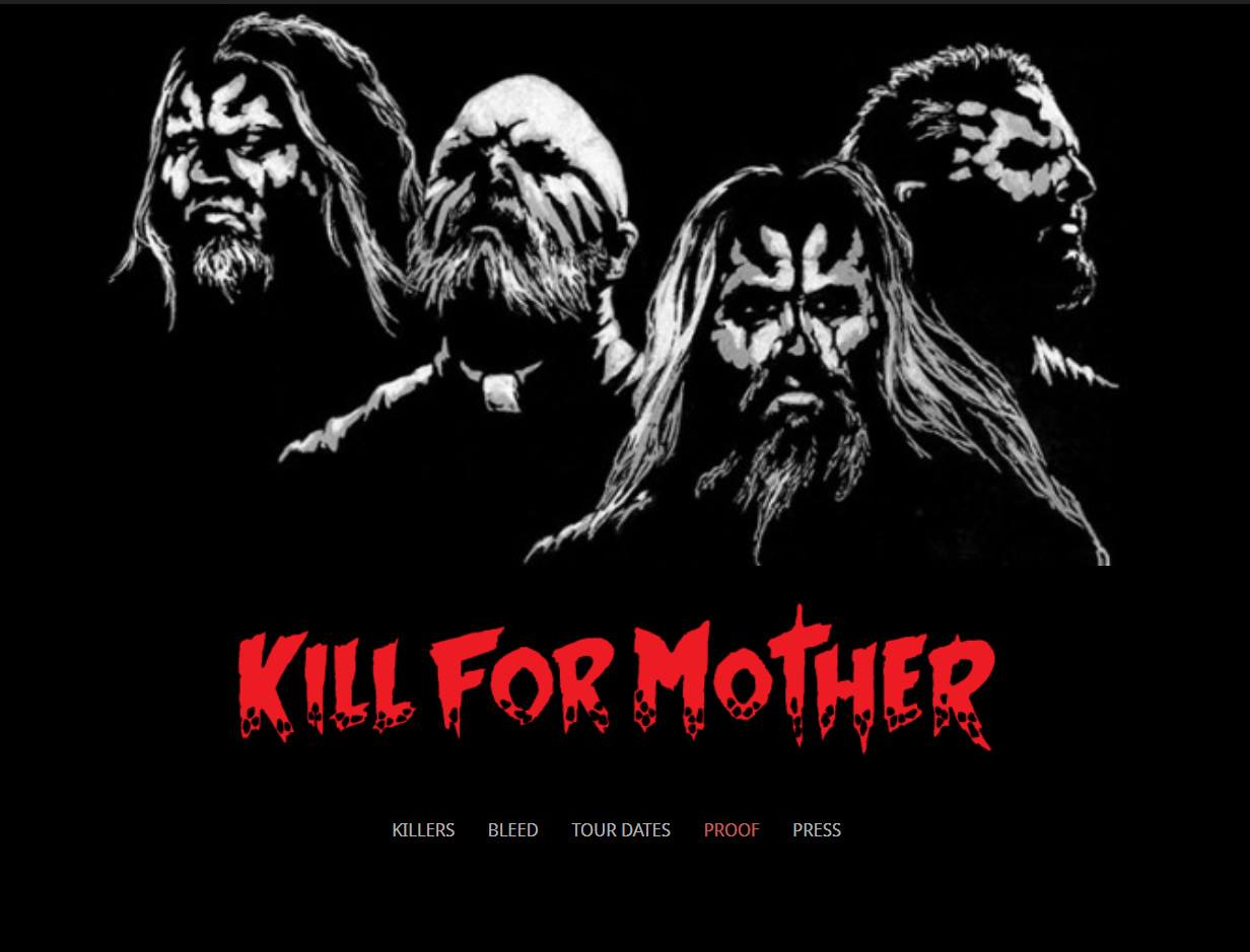 Kill For Mother band Website Dallas Texas
