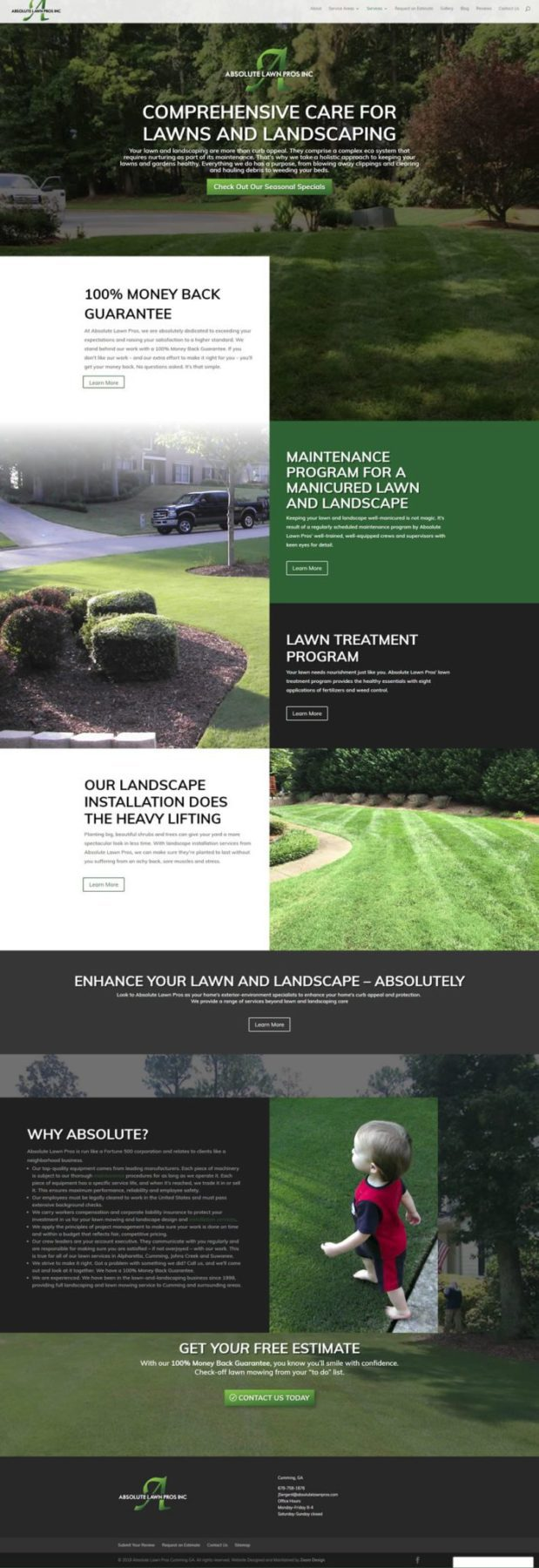 Absolute Lawn Pros - Karla Fouts Designs